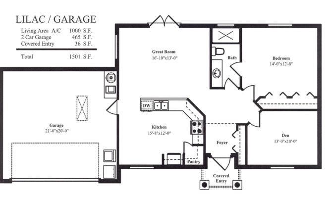 Guest House Floorplans