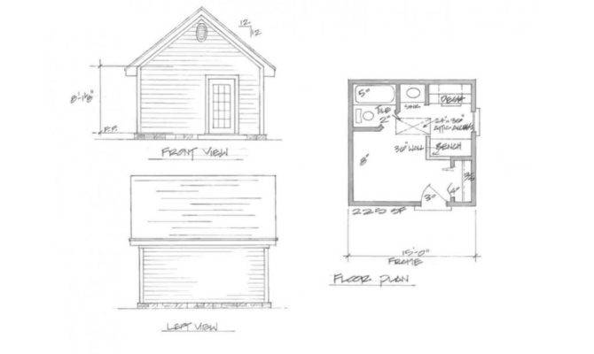 Guest House Plan Casita
