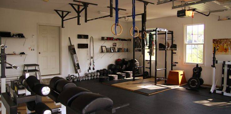 Gym Design Fitness Modern Pinterest Home Gyms