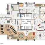 Gym Design Floor Plans Bird Eye