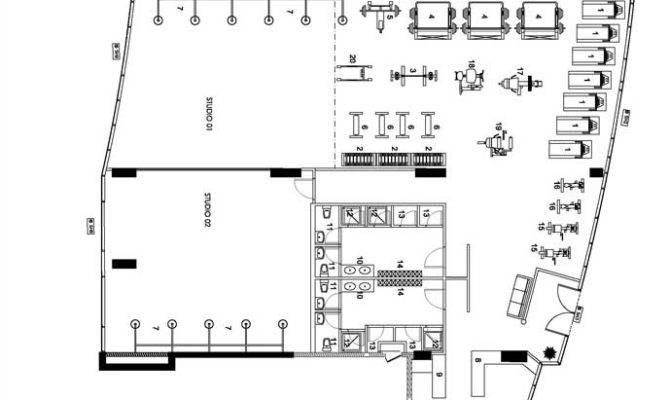Gymnasium Floor Plan Mma Gym Discovery Gardens Plans