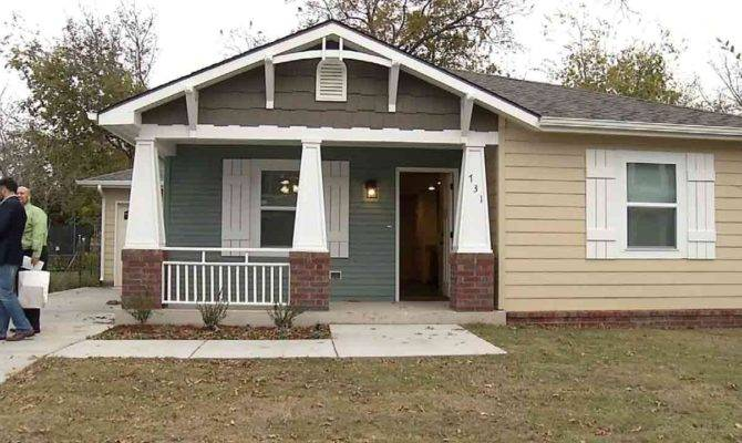 Habitat Humanity Home Donated Woman Time