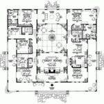 Hacienda Style House Plans Smalltowndjs