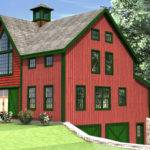 Haley Carriage House Barn Home Plan