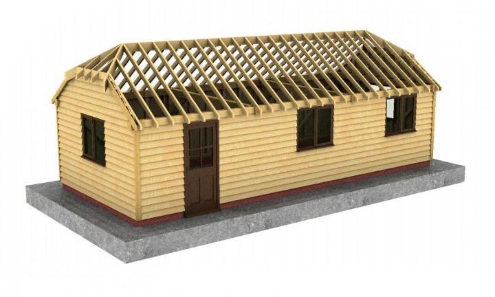 Half Hip Roof