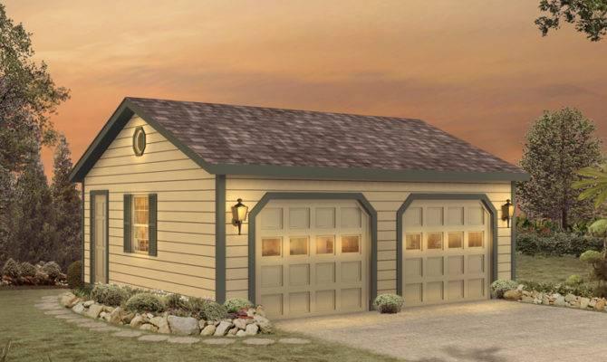 Halima Two Car Garage Plan House Plans More