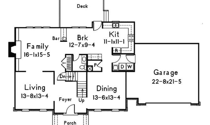 Hampshire Colonial Home Plan House Plans More