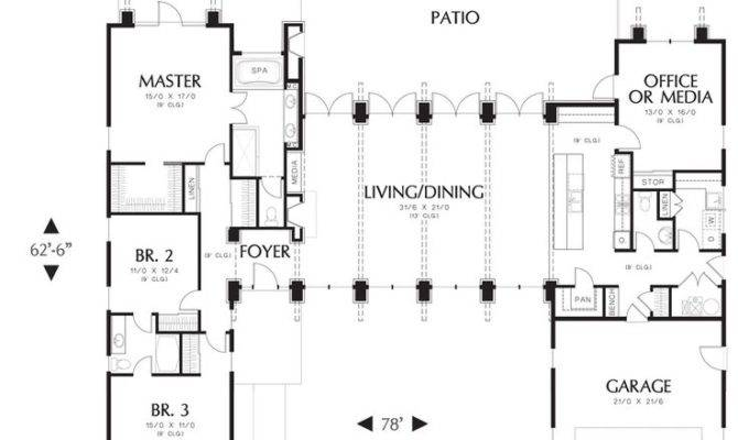 Hampton House Plan Bedrooms Baths