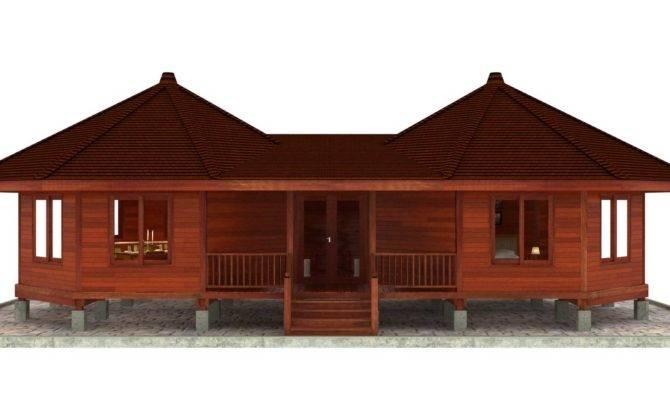 Hana Hale Design Octagonal Floor Plans Teak Bali