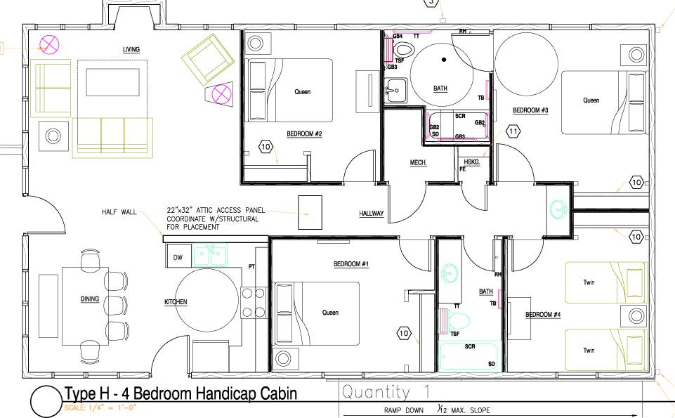 Handicap Bathroom Design Plans Floor