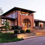 Happyroost Frank Lloyd Wright Inspired Home Outside
