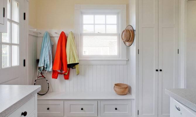 Harbor Mudroom Laundry Room Traditional