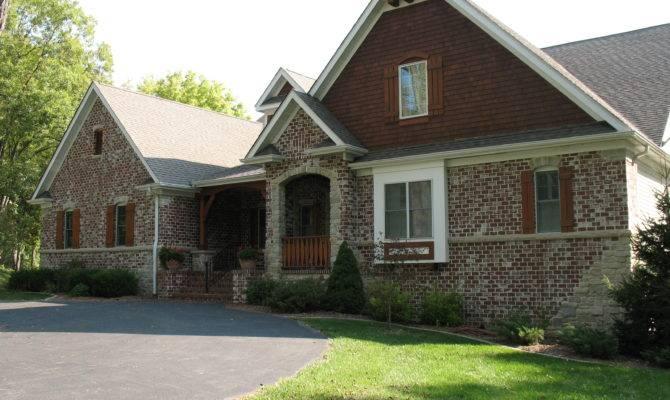 Harmonious Brick Homes Stone Accents House Plans