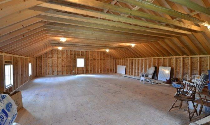 Harmonious Car Garage Plans Loft House
