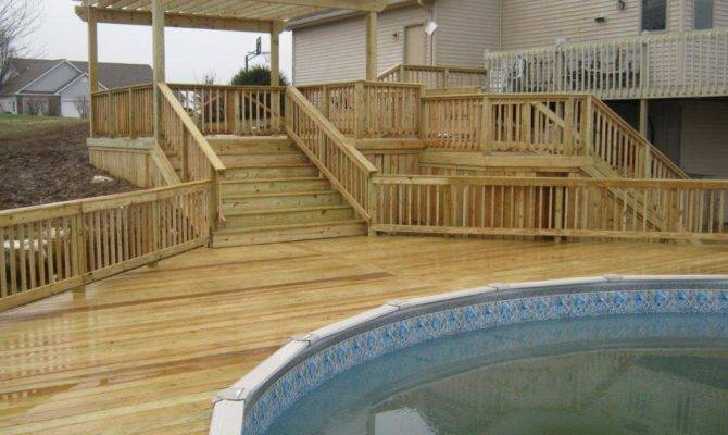 Have Archadeck Wayne Build Your Pool Deck