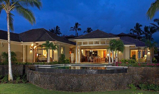 Hawaii Tropical House Plans Home Designs
