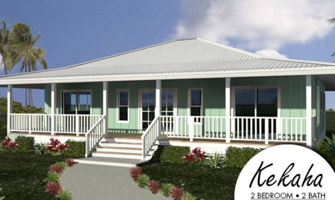 Hawaiian Plantation Style House Plans Hpm Kekaha Packaged Home