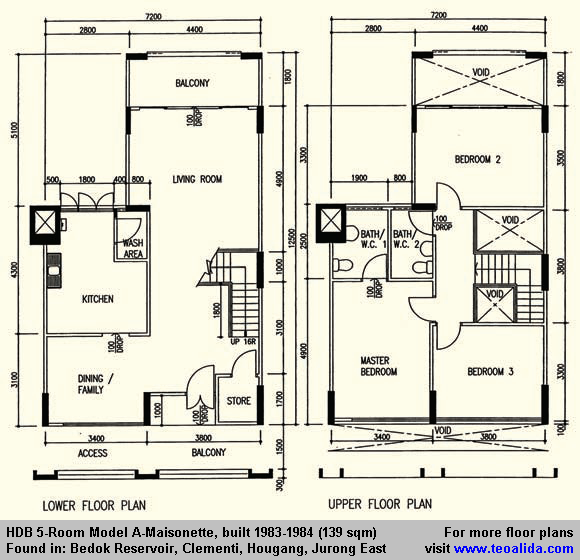 Hdb History Photos Floor Plan Evolution