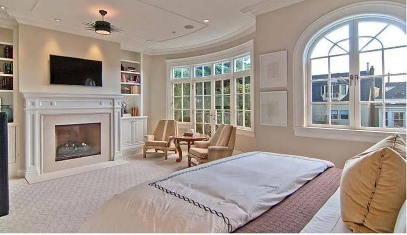 Heartwarming Bedroom Ideas Fireplace Rilane
