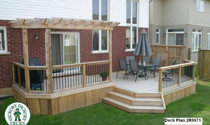 Height Diy Deck Plans