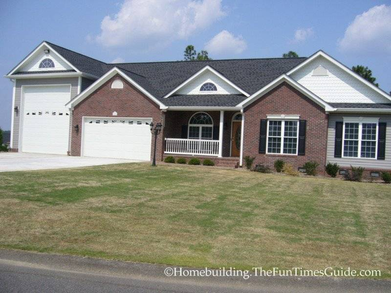 Here Great Example Custom Built Home Garage