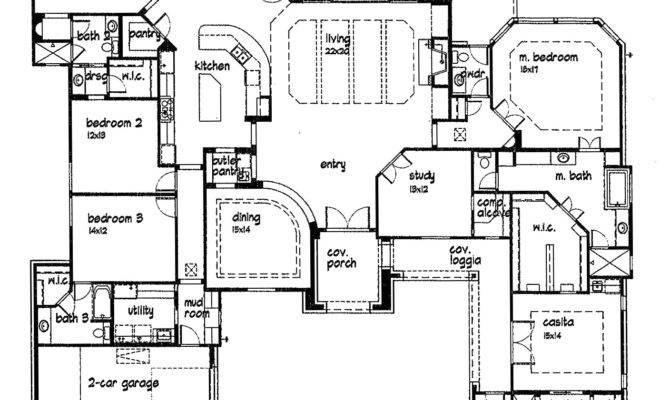 High Custom Homes Plans Home Floor