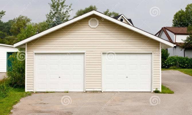 High Standing Garage Double Detached