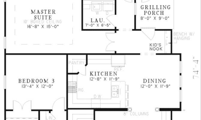 Hilgard Arts Crafts Home Plan House Plans