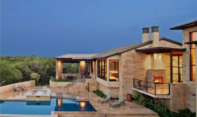 Hill Country Contemporary Home James Larue Gentlemint