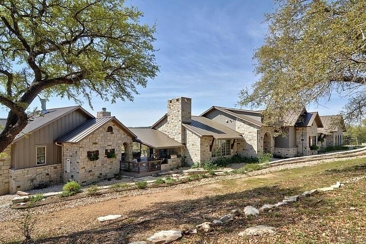 Hill Country Dream Schmidt Custom Homes Architecture Interior