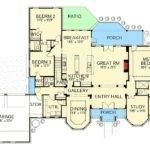 Hill Country House Plan Game Room