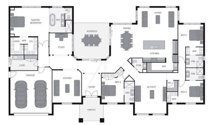 Hillside Floor Plan