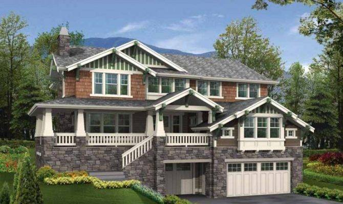 Hillside Home Plans Eplans Floor Plan Designs Sloped Lots