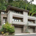Hillside Multi Home Plan Architectural
