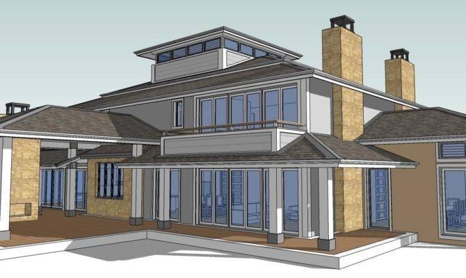 Hip House Tutorial Make Roof Using Sketchup Trebld