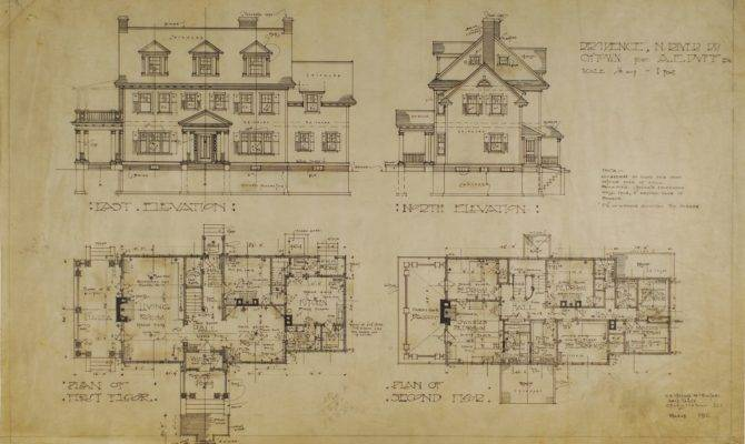 Historic Colonial House Plan Unusual Home Ideas