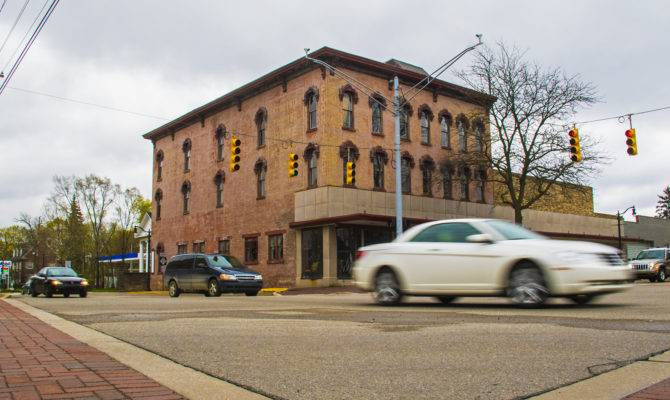 Historic Furniture Building May House Second Story Apartments