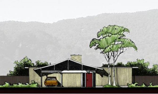 Historic Mid Century Modern House Plans Sale Today