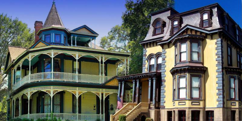 Historic Victorian Homes Great State Texas