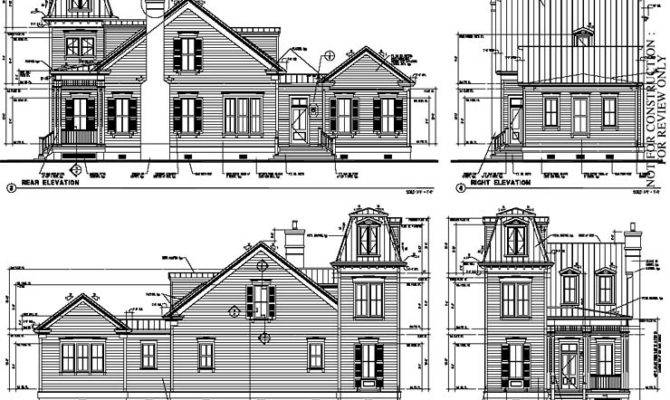 Historic Victorian House Plans Plan