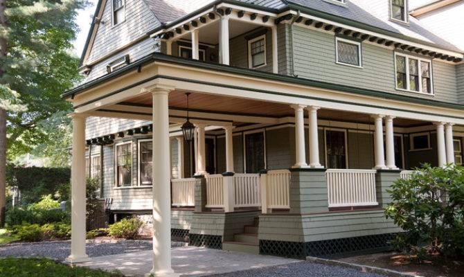 Historic Victorian Porch Build Craftsman