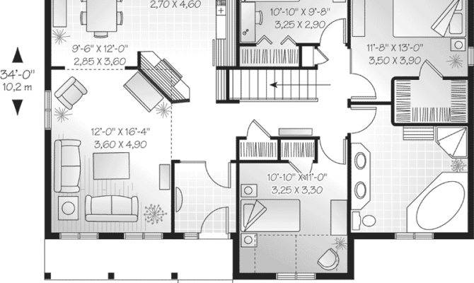 Holcomb Hill One Story Home Plan House Plans