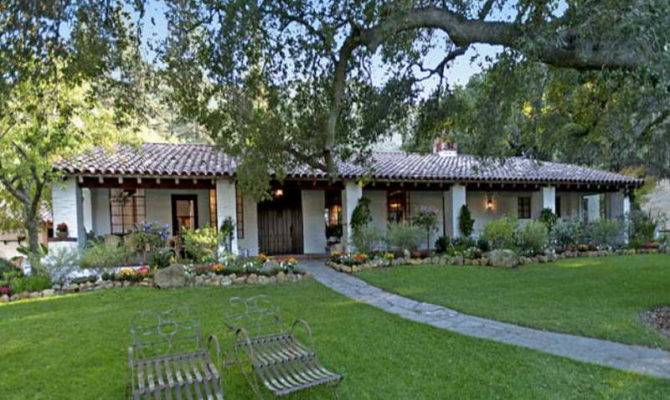 Home Architecture Spanish Style Ranch Homes
