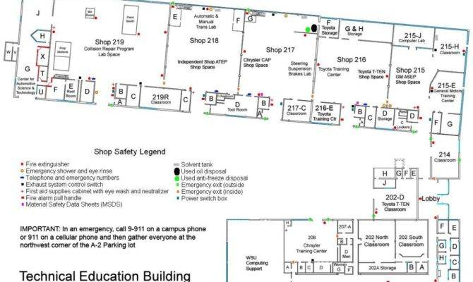 Home Auto Shop Layout Safety