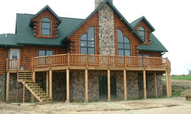 Home Custom Built Log Homes Bestofhouse