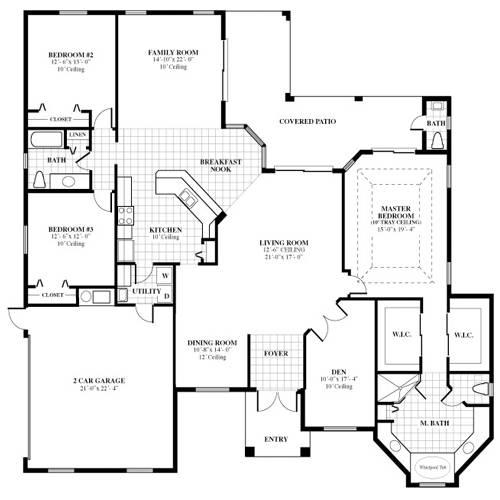 Home Design Floor Plans Elements