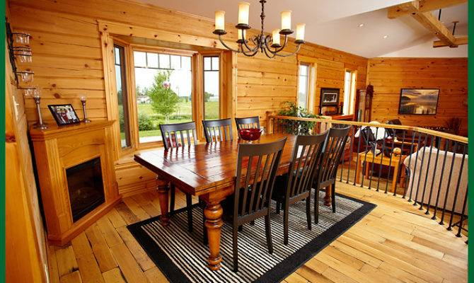Home Dining Rooms Log Room