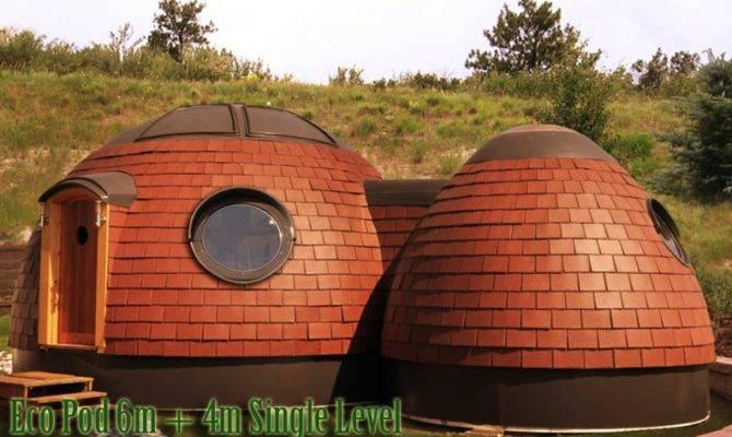 Home Dome Eco Pod Tiny House Concept Kent