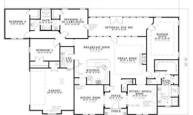 Home Floor Plans Inlaw Suite Unique