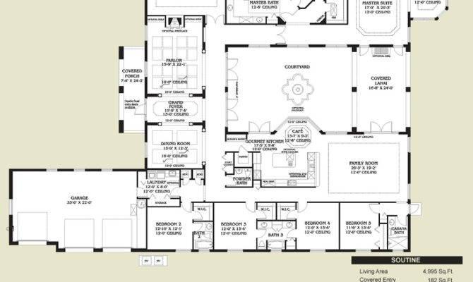 Home Floors Plans Dreams House Floorplans Ideas Spanish Style